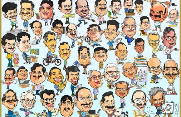 Naganath G.S. (Karnataka Cartoonists Association Secretary)
