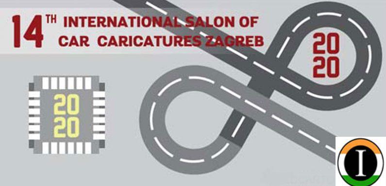 14. INTERNATIONAL SALON OF CAR CARICATURES ZAGREB