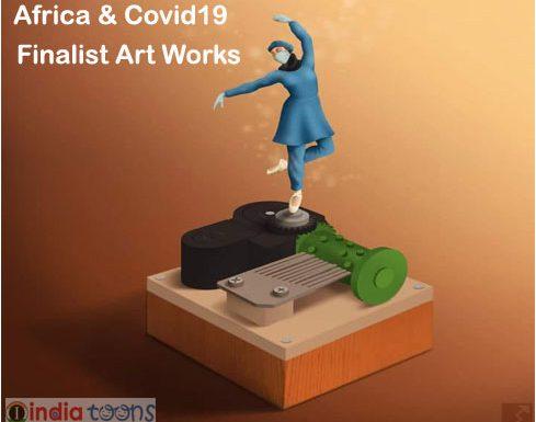"FINALIST OF THE VIRTUAL CARTOON FESTIVAL ON ""AFRICA & COVID-19"""