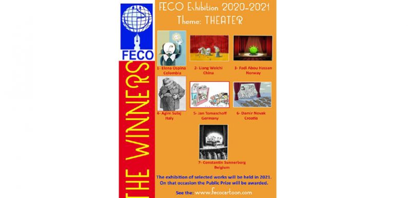 The winners of FECO Exhibition 2020-2021
