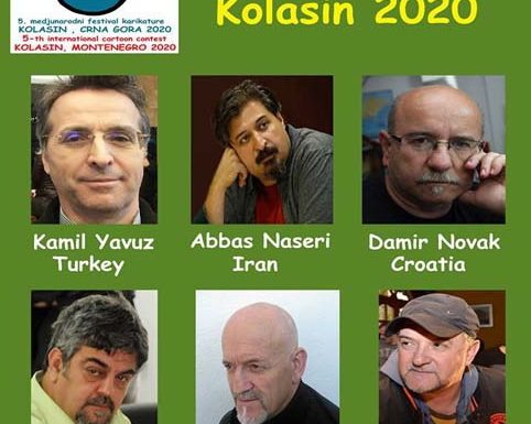 5th international cartoon contest KOLASIN MONTENEGRO 2020