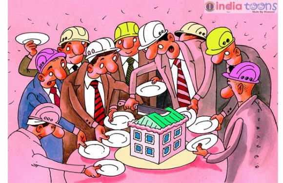 """BUILDER'S Day"" Cartoons by Valentin Druzhinin from Moscow, Russia. Valentin Druzhinin"