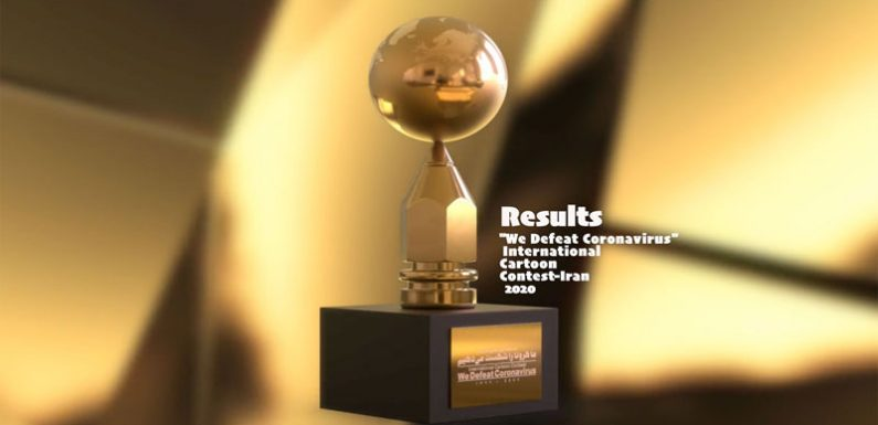 """We Defeat Coronavirus"" Cartoon Contest-Iran 2020 – Winners"