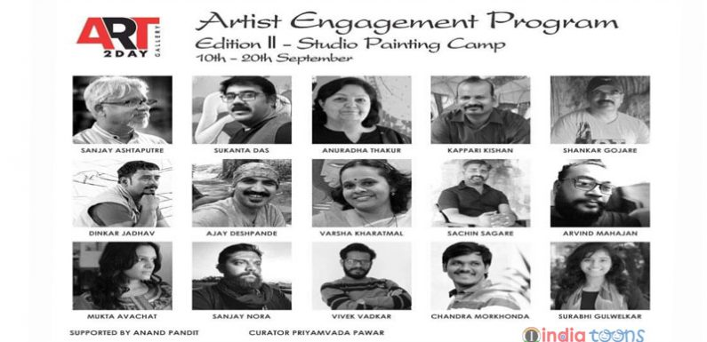 Edition II Studio Painting Camp 10th to 20th September 2020