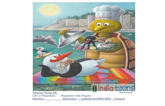 "Result of ""Values of Kuşadası"" International Cartoon Contest…"