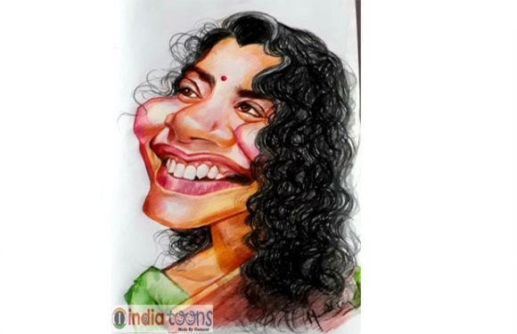 MADHU MANDA Caricature Artist